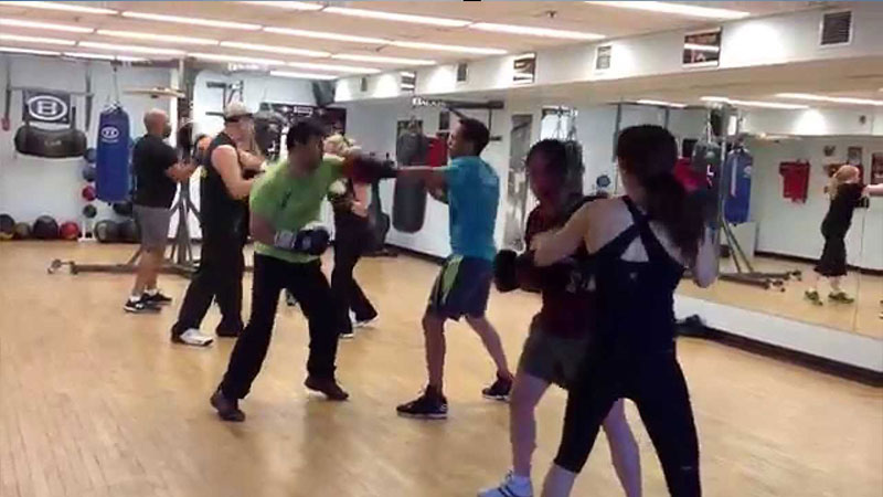 Group Sparring